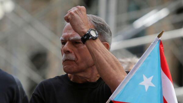 Óscar López Rivera, líder independentista puertorriqueño - Sputnik Mundo