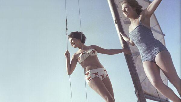 ¿Qué aspecto tenían las chicas de la URSS? - Sputnik Mundo