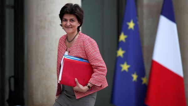 Sylvie Goulard, ministra de Defensa de Francia (archivo) - Sputnik Mundo