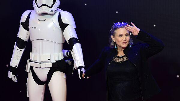 Carrie Fisher, actriz estadounidense de Star Wars (La guerra de las galaxias, en español) - Sputnik Mundo