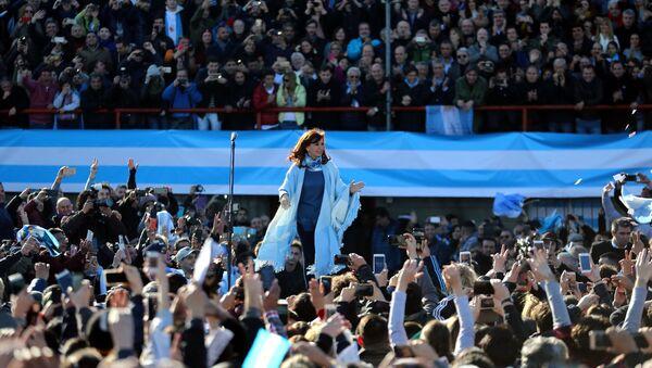 Cristina Fernández de Kirchner, expresidenta argentina - Sputnik Mundo