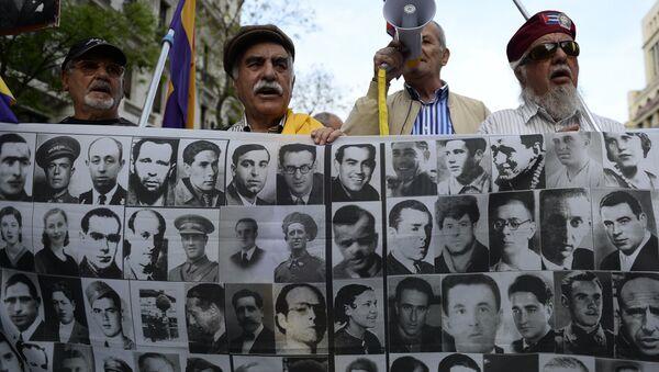 Los retratos de las víctimas del franquismo (archivo) - Sputnik Mundo