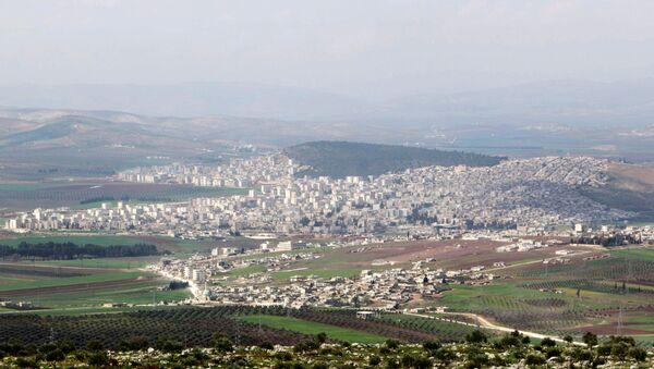 La ciudad siria de Afrin - Sputnik Mundo