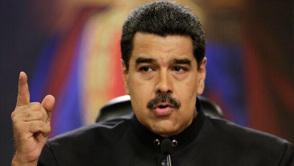 Nicolás Maduro, presidente de Venezuela - Sputnik Mundo