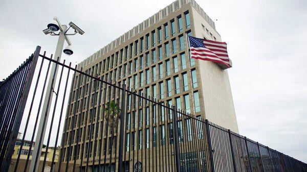 La embajada de EEUU en La Habana, Cuba - Sputnik Mundo