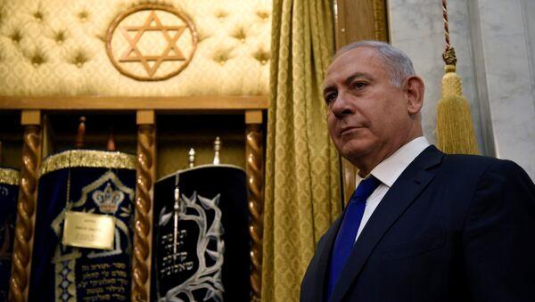 Benjamin Netanyahu, primer ministro de Israel - Sputnik Mundo