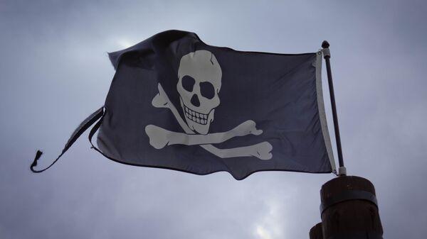 Bandera de piratas (imagen referencial) - Sputnik Mundo