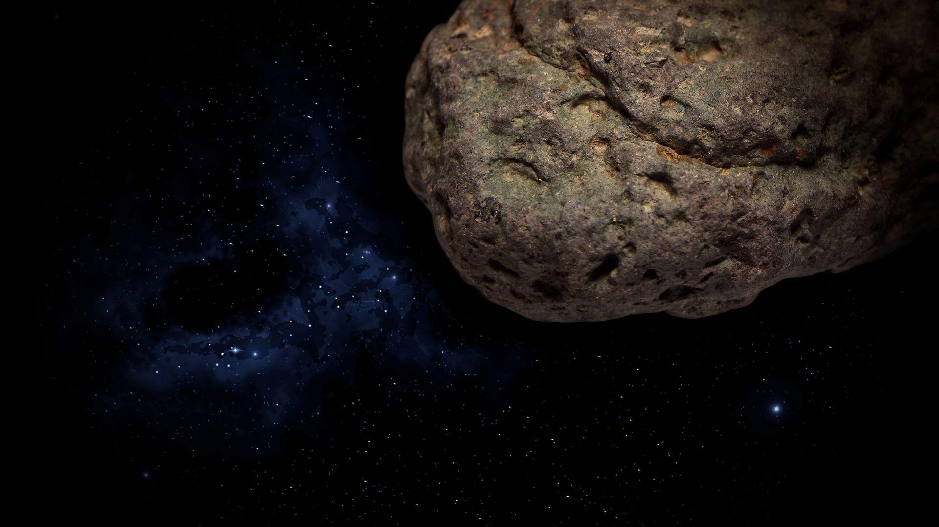 Meteorito (imagen referencial) - Sputnik Mundo, 1920, 09.03.2021