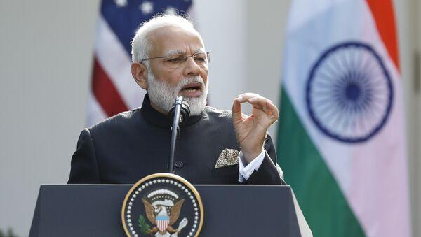 Primer ministro de la India, Narendra Modi - Sputnik Mundo