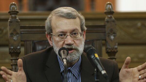 Alí Lariyaní, presidente del Parlamento iraní - Sputnik Mundo