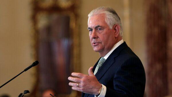 Rex Tillerson, secretario de Estado de EEUU - Sputnik Mundo