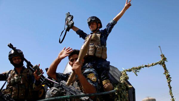 Militares iraquíes (archivo) - Sputnik Mundo