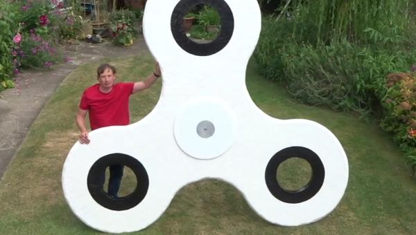 Megalomanía: construyen el 'spinner' más grande del mundo - Sputnik Mundo