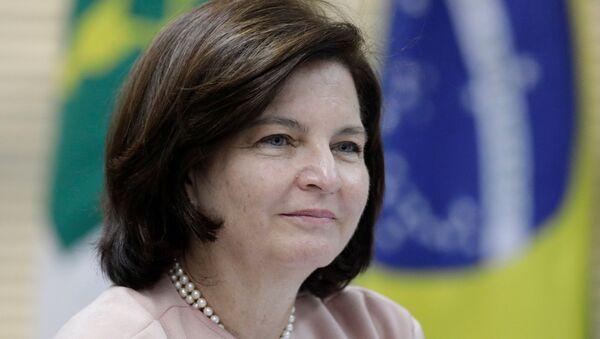 La fiscal general de Brasil, Raquel Dodge - Sputnik Mundo