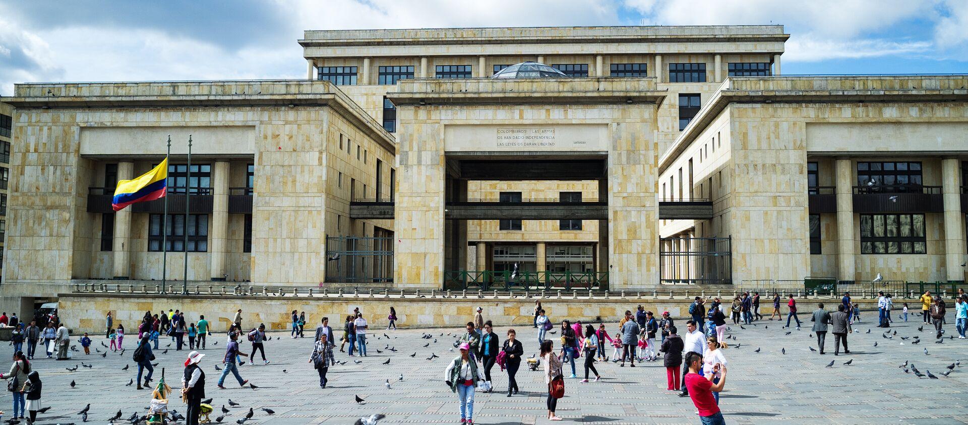 Palacio de Justicia, Bogotá - Sputnik Mundo, 1920, 09.10.2020