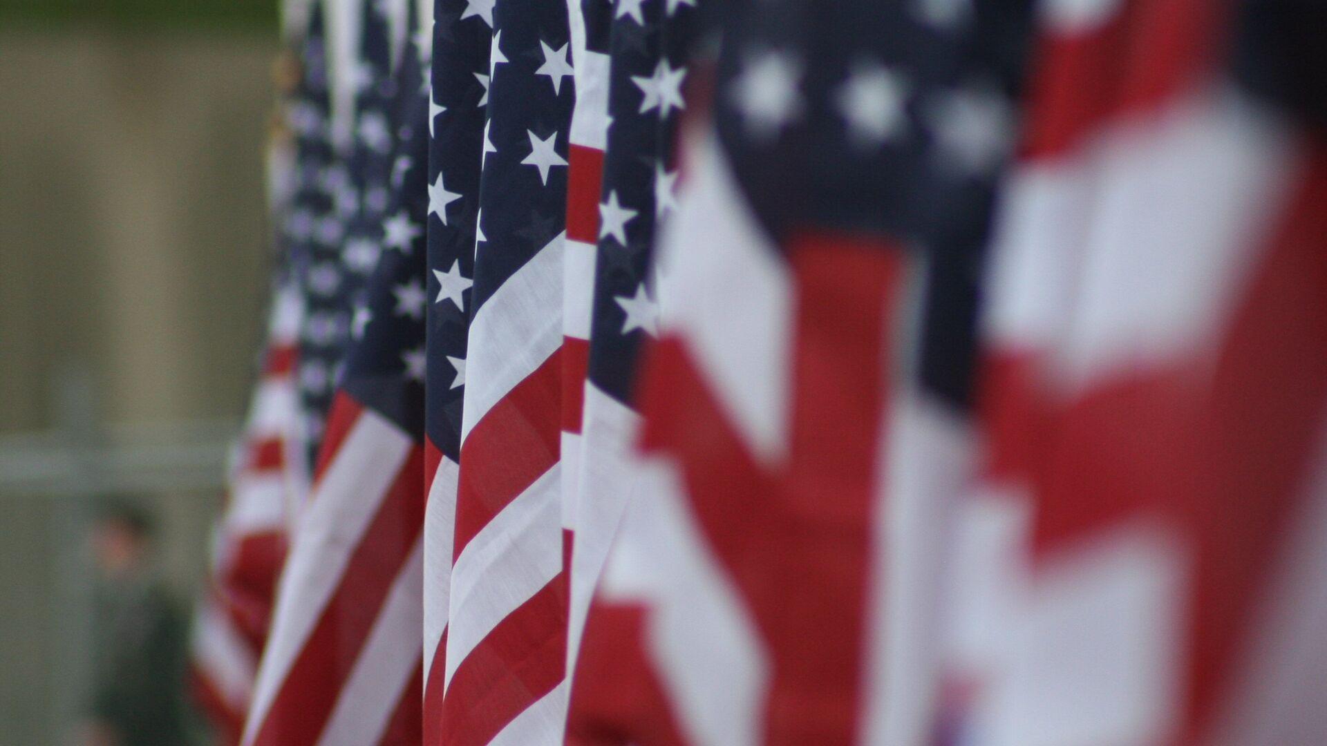 Las banderas de EEUU - Sputnik Mundo, 1920, 17.09.2021