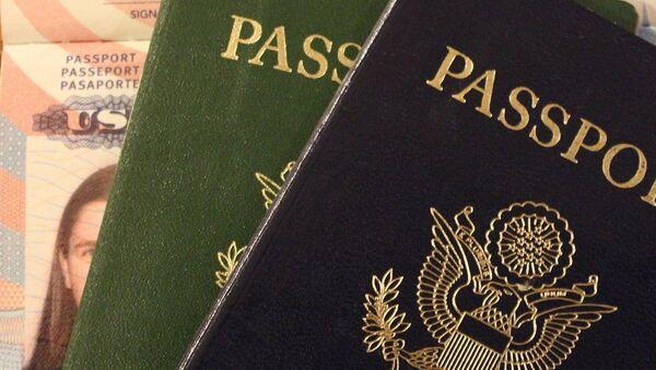 Visa para EEUU (imagen referencial) - Sputnik Mundo
