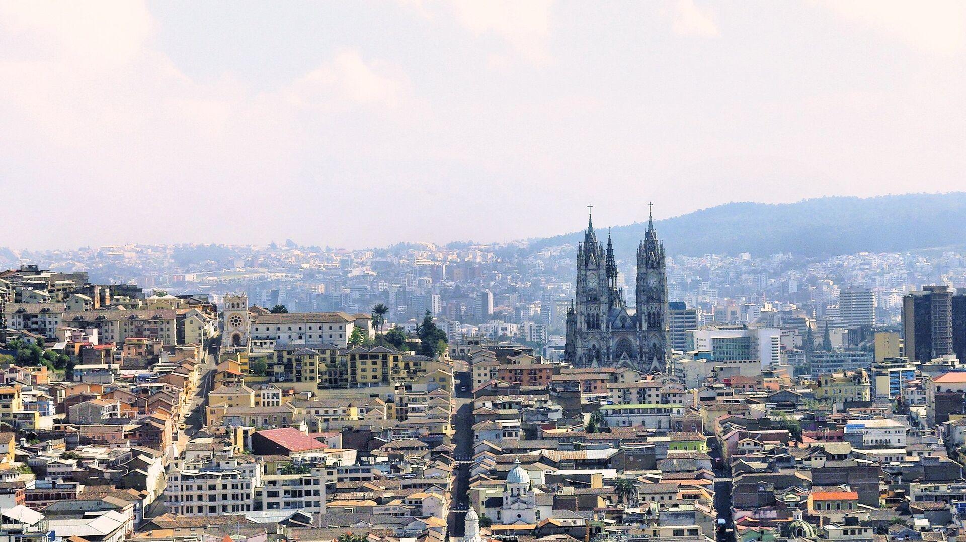 Quito, la capital de Ecuador - Sputnik Mundo, 1920, 07.10.2021