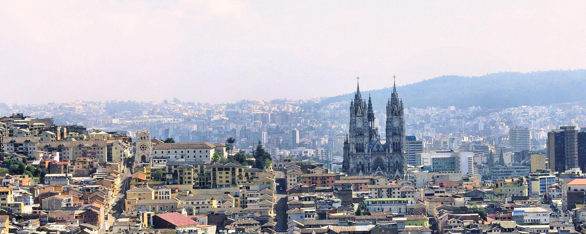 Quito, la capital de Ecuador - Sputnik Mundo, 1920, 01.06.2021