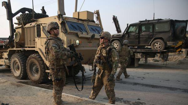 Soldados británicos en Afganistán (archivo) - Sputnik Mundo