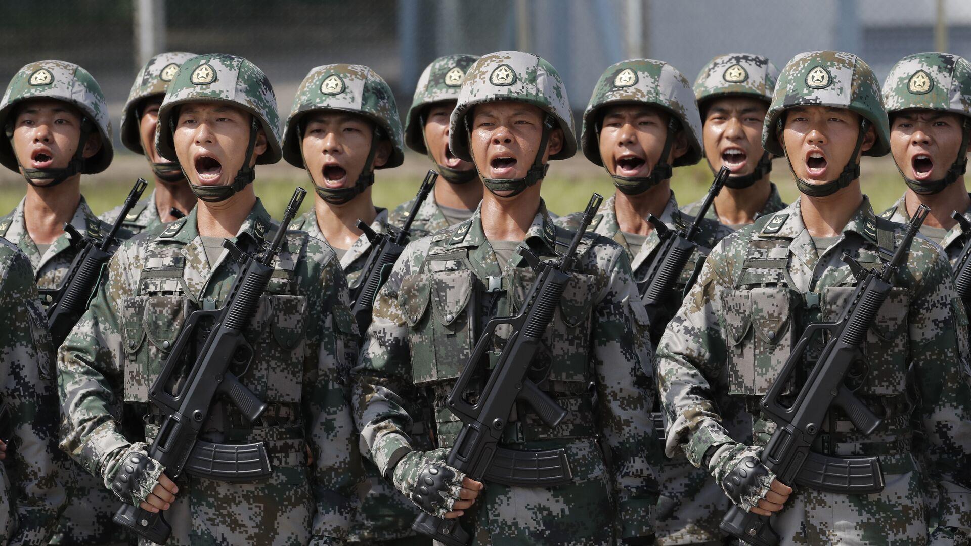 Militares chinos - Sputnik Mundo, 1920, 18.09.2021