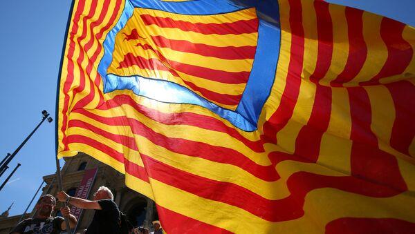 Estelada, bandera independentista catalana (archivo) - Sputnik Mundo