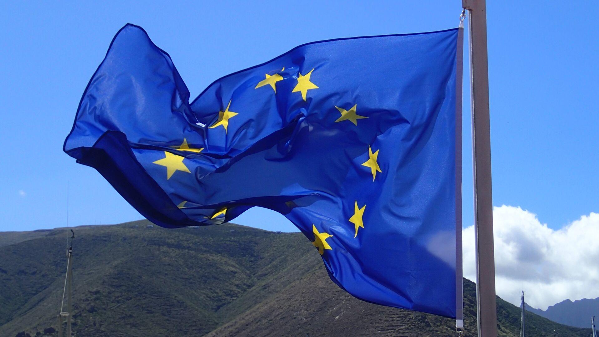 Bandera de la Unión Europea - Sputnik Mundo, 1920, 10.03.2021