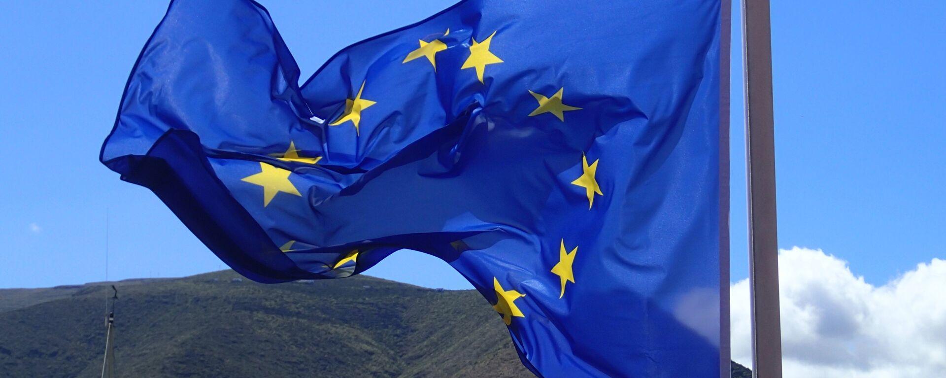 Bandera de la Unión Europea - Sputnik Mundo, 1920, 20.01.2021