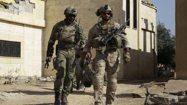 Soldados estadounidenses en Siria - Sputnik Mundo