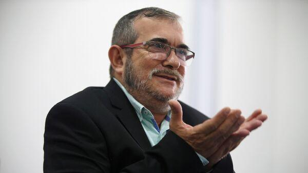 El máximo líder de las FARC, Rodrigo Londoño, alias Timochenko - Sputnik Mundo