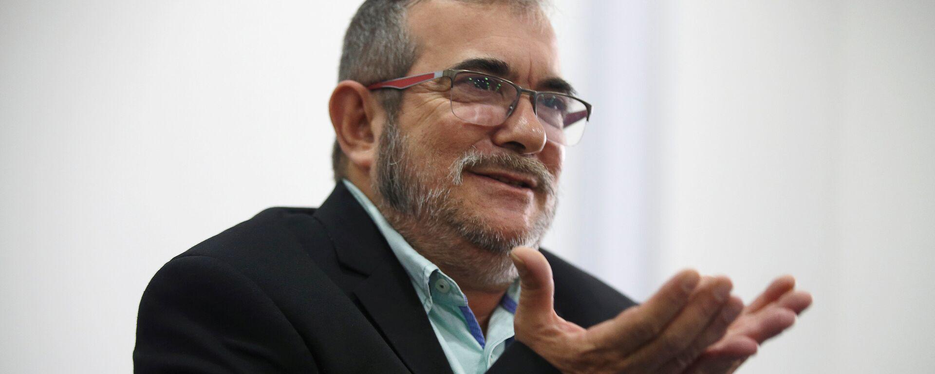 El máximo líder de las FARC, Rodrigo Londoño, alias Timochenko - Sputnik Mundo, 1920, 05.08.2021
