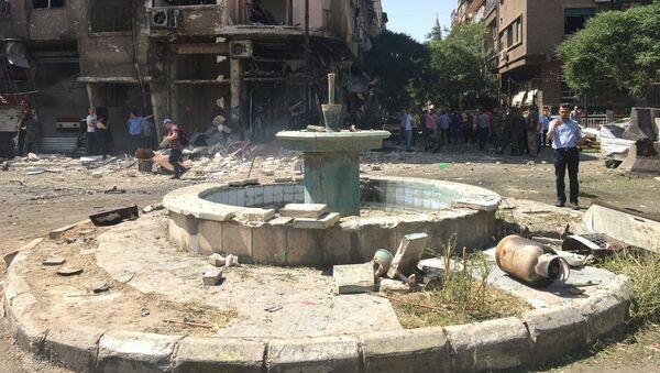 Situación en Damasco, Siria (archivo) - Sputnik Mundo