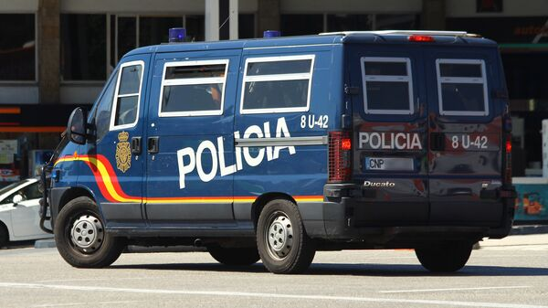 Policía Nacional de España (archivo) - Sputnik Mundo