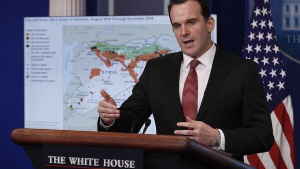 Brett McGurk, enviado de EEUU para la coalición contra el Estado Islámico - Sputnik Mundo