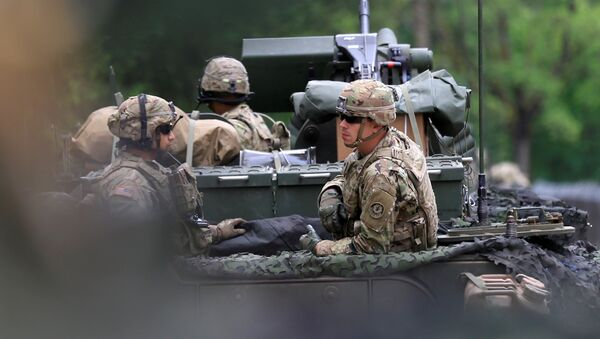 Militares estadounidenses en Polonia - Sputnik Mundo