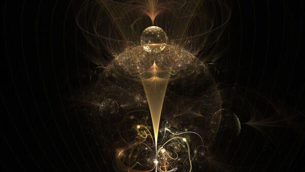Un agujero negro (ilustración) - Sputnik Mundo