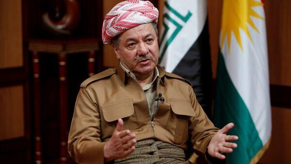 Masud Barzani, presidente del Kurdistán iraquí - Sputnik Mundo