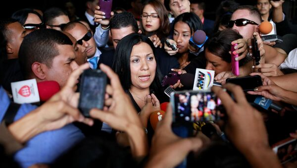 Katherine Haringhton, vicefiscal designada por el TSJ de Venezuela - Sputnik Mundo