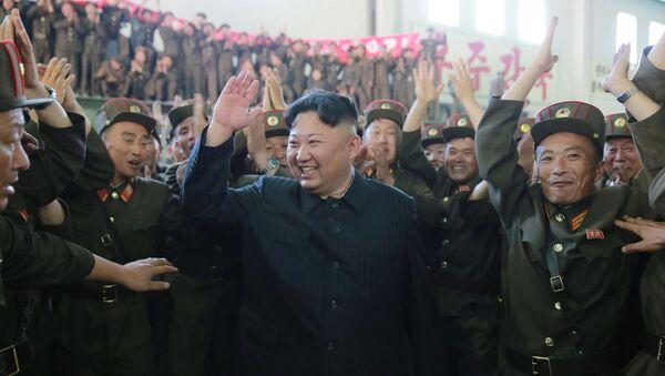 El líder de Corea del Norte, Kim Jong-un - Sputnik Mundo