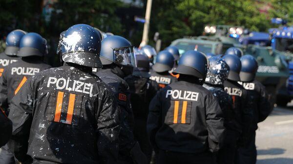 Policía de Alemania - Sputnik Mundo