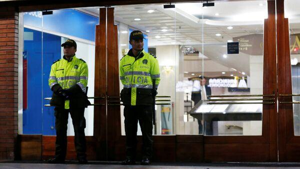 La policía de Bogotá, Colombia - Sputnik Mundo