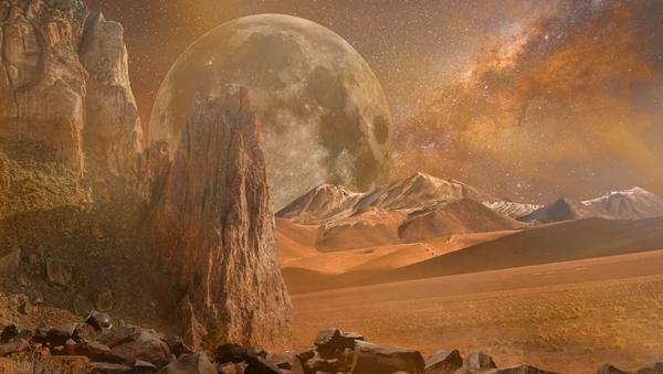 Marte (ilustración) - Sputnik Mundo