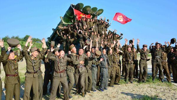 Militares norcoreanos - Sputnik Mundo