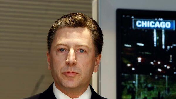 El representante especial de EEUU en Ucrania, Kurt Volker - Sputnik Mundo
