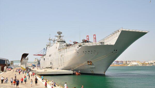 El Juan Carlos I, portaviones que será la base del de Turquía - Sputnik Mundo