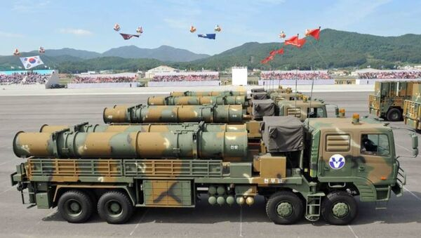 Los misiles de crucero Hyunmu-3 - Sputnik Mundo