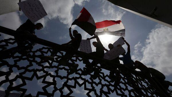 Frontera entre Egipto y Franja de Gaza - Sputnik Mundo