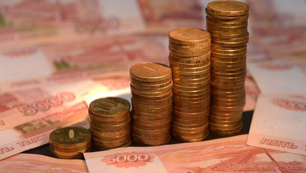 Rublos, monedas y billetes de Rusia  - Sputnik Mundo
