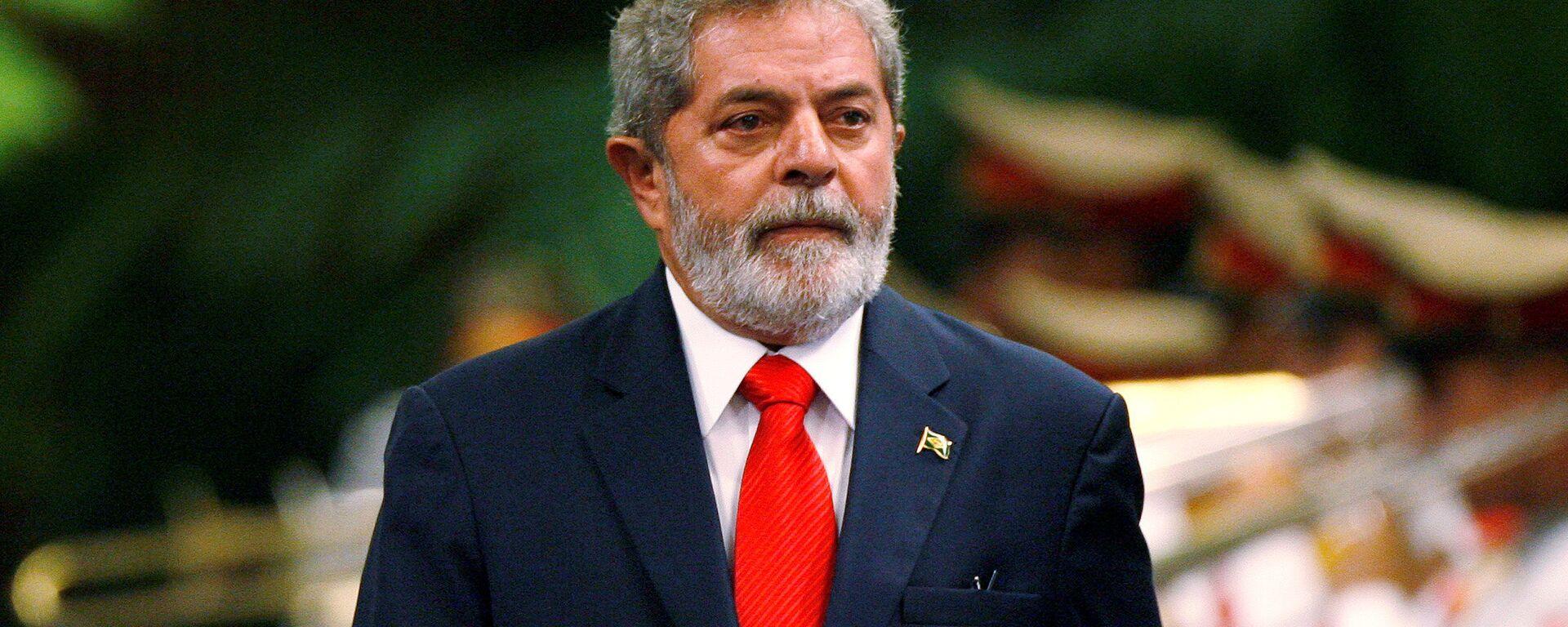 Luiz Inácio Lula da Silva, expresidente brasileño - Sputnik Mundo, 1920, 10.03.2021