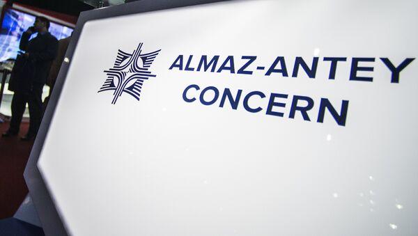 Logo del consorcio Almaz-Antey - Sputnik Mundo